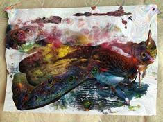Deep Dream Generator Deep, Painting, Art, Art Background, Painting Art, Kunst, Paintings, Performing Arts, Painted Canvas