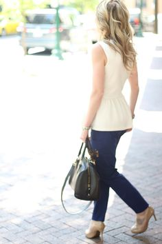 Perfectly peplum.