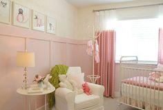 Kız Bebek Odası Dekorasyonu