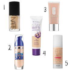 fbc184ef4 Que sea libre de aceites, tenga buena duración y un acabado mate... ¡No  busques más! Aquí, las mejores bases de maquillaje para piel grasa.