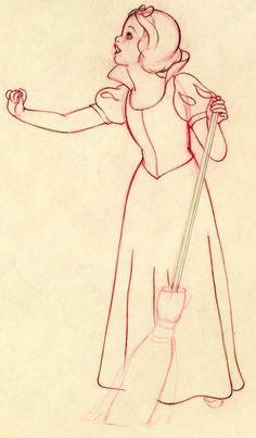 Filmic Light - Snow White Archive: Marc Davis - Disney's Nine Old Men