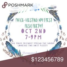 Theme is Wardrobe goals! So excited for the opportunity to co-host a party! If you've never had a hostpick please tag me! Come party with us!!!    Co-hosts are @mtnhiker @ericarose1989 @mo_mento Other