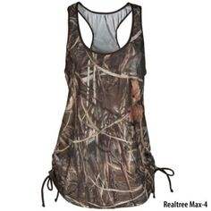 6b19d57634a15 Realtree Girl Womens Cover-Up With Adjustable Ties-777788 - Gander Mountain  Camo Workout