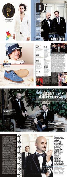 """DONNA IMPRESA MAGAZINE cover Pierlorenzo Bassetti e Marco Gambedotti - Magazine with 58 pages: """"IT MAKES TRHE DIFFERENCE"""" Percorsi professionali diversi ma sensibilità affini avvicinano il duo creativo che ama spaziare nella cultura dell'immagine verso l'inventiva e l'originalità. La loro, è una ricerca della bellezza orientata alla felicità. Obiettivo solo per gente tosta, gente che ha capito una cosa: bisogna concedersi sempre una possibilità. O forse più di una. Pierlorenzo e Marco, due…"""