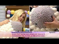 Mesmerizing Crochet an Amigurumi Rabbit Ideas. Lovely Crochet an Amigurumi Rabbit Ideas. Easter Crochet, Crochet Bunny, Diy Crochet, Crochet Hats, Knitting Yarn Diy, Knitted Pouf, Square Baskets, T Shirt Yarn, Felt Toys