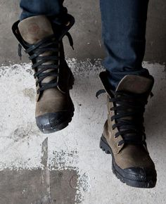 Palladium boots are by far my new favorite type of shoes...