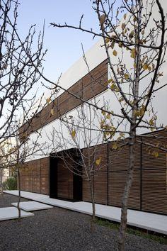 Desert Landscape - Why Here?  Sugamo Shinkin Bank – Ekoda Branch by Emmanelle Moureaux