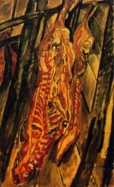 Chaim Soutine, The Beef, c.1920, oil on canvas, 81 x 50 cm. Private Collection.
