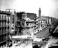 Cruïlla del Carrer Aragó amb Laietana - Església de la Concepció - Barcelona