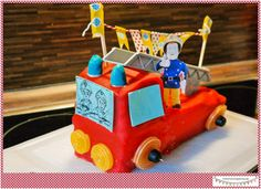 Feuerwehrparty mit Spielideen, Gastgeschenken und Feuerwhermuffins & Feuerwehrkuchen. Feuerwehrspiele für den Feuerwherkindergeburtstag, Feuerwehrgeburtstag
