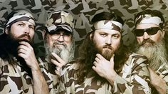 Duck Dynasty - how can I not love this program - i love guys with beards!kn