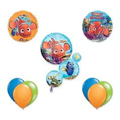 #Christmas Need buy Finding Nemo 9 pc Birthday Party Balloon Decoration Kit for Christmas Gifts Idea Stores . On the internet buying good Christmas   presents generally is a very informative experience, using an array of not merely customized presents but additionally special presents. The top on the net purc...