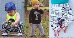 These designer organic baby leggings are the perfect addition to your child's wardrobe!