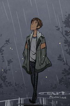 elentori art blog • I miss rain