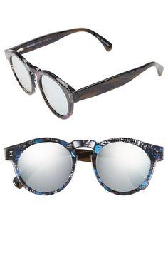 Illesteva 'Eco Friendly - Leonard' 48mm Sunglasses available at #Nordstrom