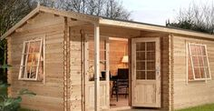 Take a Peek Inside this Inexpensive Log Cabin Kit