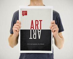 Une série de posters visuellement très réussis «Quotation Posters»
