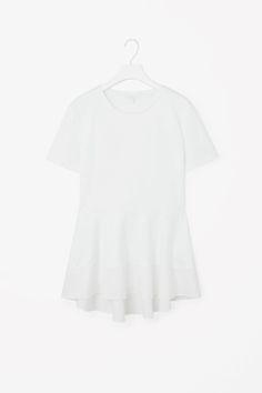 Peplum cotton top