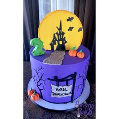 hotel transylvania cake on Instagram