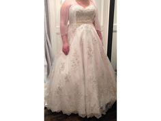 We offer inexpensive plus size beaded wedding dresses to brides of all sizes from all over the globe. This pewter beaded bridal gown could be made with any changes. We make custom #plussizeweddingdresses as well as replicas of couture gowns that may be too expensive for a brides budget.  Get pricing on any picture at http://www.dariuscordell.com/featured_item/plus-size-wedding-dresses-bridal-gowns/
