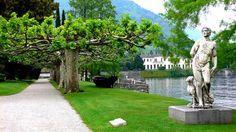 The Gardens of Villa Melzi, Bellagio, Lake Como. Italy