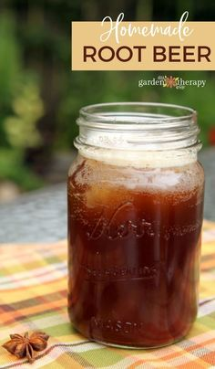 Have you ever wondered how to make root beer? Or why it's called root beer? Well, those little mysteries are unraveled for us: root beer is made of a complex combination of different roots. Learn how to make a delicious homemade root beer with this simple recipe. #gardentherapy #drinkrecipes #recipes #soda #diy Beer Recipes, Root Beer, Yummy Drinks, Homestead, Soda, Roots, Easy Meals, Therapy, Gardening