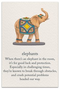 Never Have only one elephant. If you don't have a pair you have to turn your one elephant upside down, otherwise don't keep it in your house. Buddhism Symbols, Spiritual Symbols, Sanskrit Symbols, Buddhism Tattoo, Meditation Tattoo, Qoutes, Life Quotes, Mudras, Symbols And Meanings