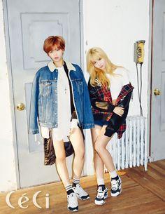 Jeongyeon & Momo  (TWICE) - Céci Magazine December Issue '15