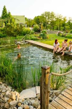 Types - Build your own natural swimming pool- Bauarten – Schwimmteich-Naturpool selberbauen Types – Build your own natural swimming pool - Backyard Pool Designs, Small Backyard Pools, Swimming Pools Backyard, Ponds Backyard, Lap Pools, Indoor Pools, Small Pools, Pool Decks, Natural Swimming Ponds