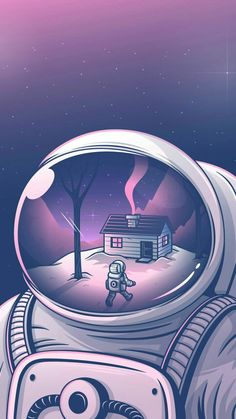 Wallpaper Astronauta