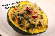 Quinoa Stuffed Acorn Squash | Yonder Wild....healthy, easy, yummy and kind of fancy!