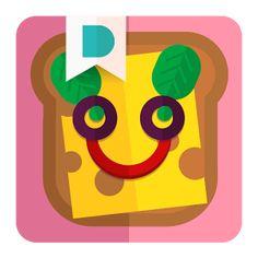 Duckie Deck SandwichsChef (Android - IOS) Apprendre virtuellement de nouvelles recettes de sandwichs à base de légumes divers et variés, avant de les réaliser concrètement.