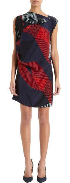 10 Crosby Derek Lam Geometric Print Dress
