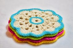 Here is an easy but elegant and beautiful crochet coasters. I love the simplicity of crocheting this; after crocheting one you can basically do them without reading the instructions. The pattern…
