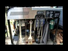 Weber Performer Charcoal Grill Modifications (with Craycort Cast Iron Gr...