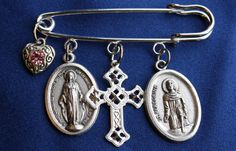 Our Lady of Grace St Peregrine Saint Medal Safety by faithsymbol