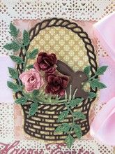 Spring Basket 1 - DL214 - Cheery Lynn Designs