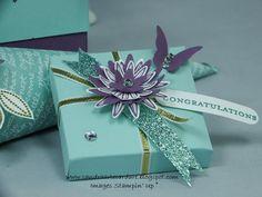 Stampin' Up Envelope Punch Board Wedding Favours