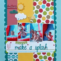 Scrap Notions: Make a splash <3 the colors