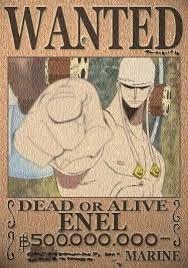 Enel bounty One Piece Bounties, Otaku, One Peace, The Pirate King, Roronoa Zoro, One Piece Anime, Manga Drawing, Disney Cartoons, Things That Bounce