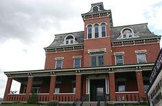 Haunted Place - Southgate House Newport, Kentucky (near Cincinnati, Ohio)  ADDRESS:  24 East 3rd Street Newport, Kentucky  41071  Southgate House web site