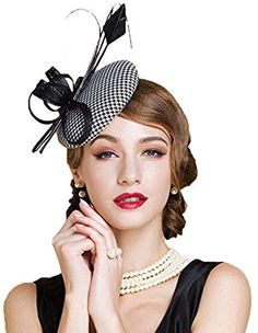 Shop a great selection of Ladies Wedding Fascinator Hats Elegant Black White Plaid Houndstooth Pillbox Hat. Find new offer and Similar products for Ladies Wedding Fascinator Hats Elegant Black White Plaid Houndstooth Pillbox Hat. Pillbox Fascinators, Wedding Fascinators, Pillbox Hat, Fedora Hat, Ladies Wedding Hats, Ladies Hats, Black Fascinator, Tea Party Hats, Feather Hat