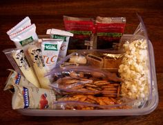 Create a Go-To Snack Center in Your Fridge