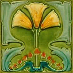 Marsden c1906/1908 - RS0219* - Art Nouveau Tiles