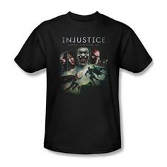 Injustice Key Art Mens T-Shirt $23.99 (with Free U.S. Shipping)