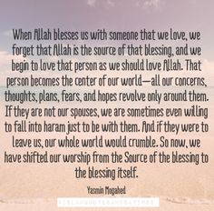 Something to think about, esp. for all those involved in a Haram relationship