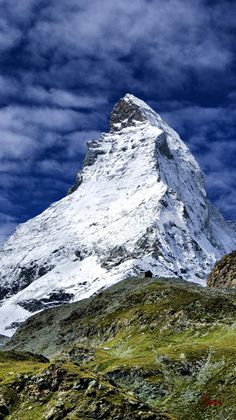 ~~Matterhorn ~ Pennine Alps on the border between Switzerland and Italy by Issi~~