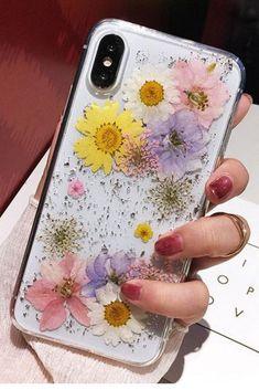 Art Deco Lotus Flowers in Pink & Navy iPhone 11 case