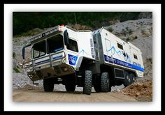 Action Mobil Desert Challenger. A stunning off-road leviathan: http://exm.nr/buiqLM