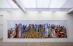 Abdoulaye Konaté, 'Fete Africaine (The Men and the Marionettes),' 2012, Stedelijk Museum Amsterdam